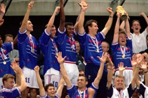 Deschamps, Equipe de France, champion du monde