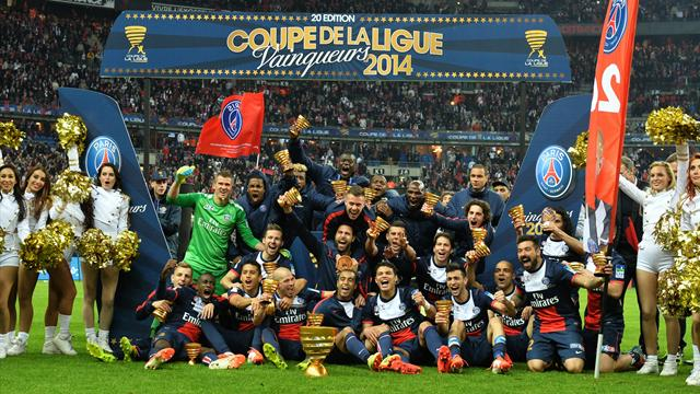 Finale coupe de la ligue 2014 paris sg bat olympique lyon - Billet psg lyon coupe de la ligue ...