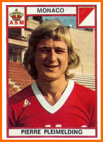 04-Pierre PLEIMELDING Panini AS Monaco 1976